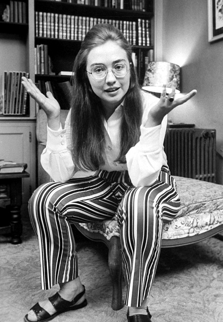 hillary clinton younger days. Hillary does Adele from